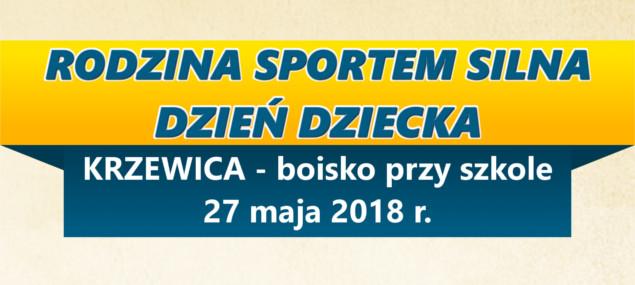 """""""Rodzina Sportem Silna"""" w Krzewicy"""