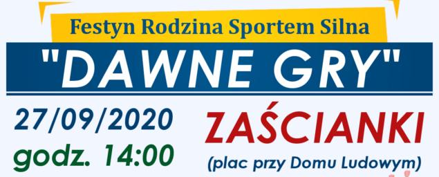 Rodzina Sportem Silna w Zaściankach